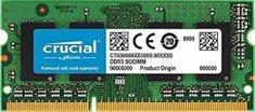 Crucial radna memorija 8GB DDR3 1866 PC3-14900 CL13 1.35V SODIMM, za prijenosna računala