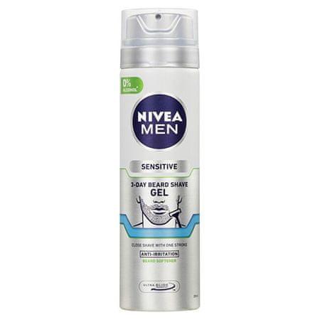 Nivea (3 Day Beard Shave Gel) 200 ml