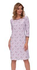 Stylomat Luxusní dámská noční košile Pavla orientální vzor vínový