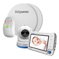 Babysense Luvion® SUPREME CONNECT 4.3 s monitorem dechu BABYSENSE 7