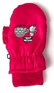 Nickel sportswear dětské rukavice 2 červená