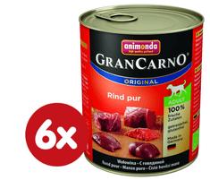 Animonda mokra hrana za odrasle pse GranCarno, goveje meso, 6 x 400 g