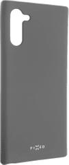 FIXED Etui gumowane Story do Samsung Galaxy Note10, szare, FIXST-429-GR