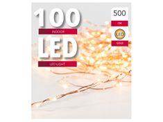 Toro Řetěz světelný 100 LED měděný 5 m
