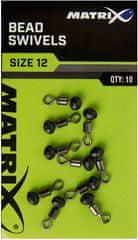 Matrix Obratlík Bead Swivels Size 16 10ks