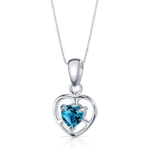 Eppi Srdiečkový náhrdelník s londýnskym topásom Erira P33148