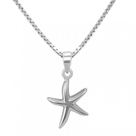 Eppi Stříbrný přívěsek ve tvaru hvězdice Stars P35201