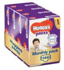 Huggies Pants 4 (9-14 kg) Jumbo 144 db (4x36 db) - Egy havi csomagolás