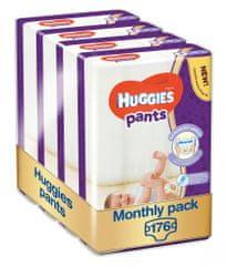 Huggies Pants 3 (6-11 kg) Jumbo 176 ks (4x44 ks) - Mesačné balenie