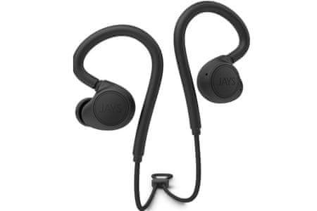 JAYS słuchawki m Six Wireless, czarne | MALL.PL
