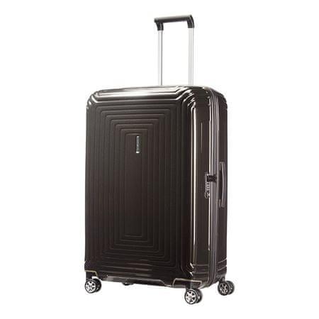 Samsonite Neopulse potovalni kovček 75/28, kovinska črna