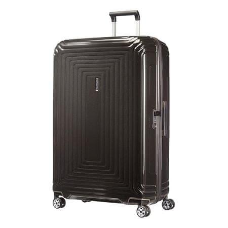 Samsonite Neopulse potovalni kovček 81/30, kovinska črna