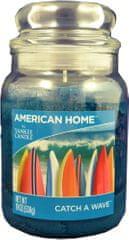Yankee Candle Americký domov 538 g Na vlně