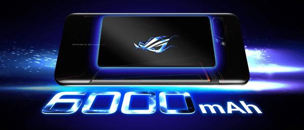 Asus ROG Phone II (ZS660KL), velkokapacitní baterie, dlouhá výdrž, velká baterie, rychlé nabíjení, Hyper Charge, 30 W