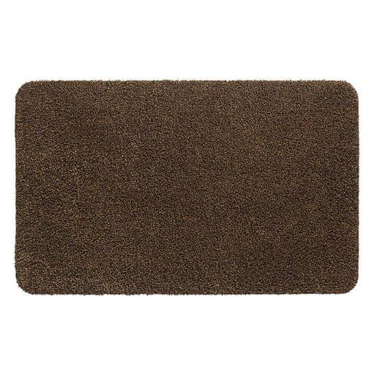 FLOMA Hnědá vnitřní vstupní čistící pratelná rohož Aqua Stop - 40 x 60 cm