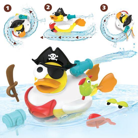 Yookidoo Kreatívna plávacia kačica - Pirát