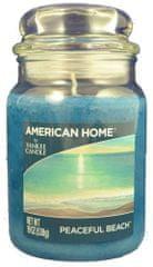 Yankee Candle Americký domov 538 g Pokojná pláž