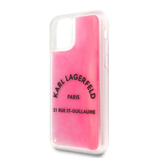 Karl Lagerfeld Glow in The Dark Kryt pro iPhone 11 Pro (EU Blister) (KLHCN58GLTRSL)