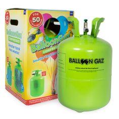 HELIUM DO BALÓNKŮ BALOONGAZ - jednorázová nádoba 420 l