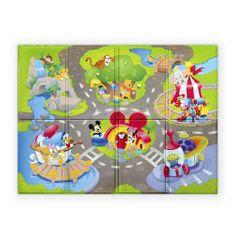 Disney Baby podložka penová skladacia Disney Pals 120 x 89cm 6m +