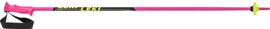 Leki Racing Kids, pink-black-white-yellow, 085