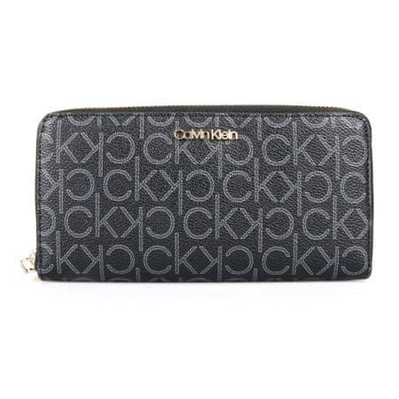 Calvin Klein Dámská peněženka CK Must Large K60K605894 šedá