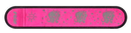 Reer Világos rózsaszínű fényvisszaverő LED szalag