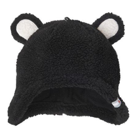 Lodger Hatter Tedy dječja kapa, crna, 0-3 m