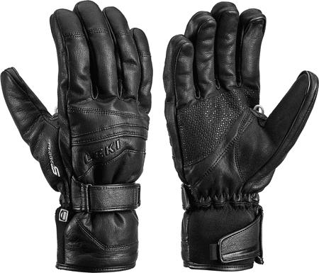 Leki rękawice narciarskie Fusion S Mf Touch Black 8