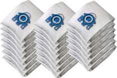 KOMA ML01PL - Sada 20 ks sáčků do vysavače s plastovým čelem pro Miele H,G,N