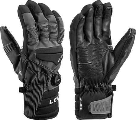 Leki Progressive Tune S Boa® Mf Touch smučarske rokavice, črne, 9