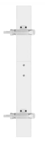 Reer StraitFlex szerelőkészlet, fehér
