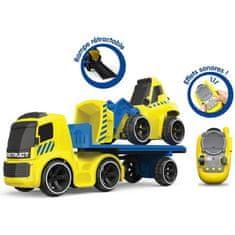 Silverlit Tooko 81847 Kamion s přívěsem a buldozerem