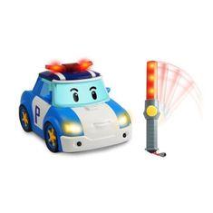 Ouaps Robocar Poli autíčko na dálkové ovládání 22 cm
