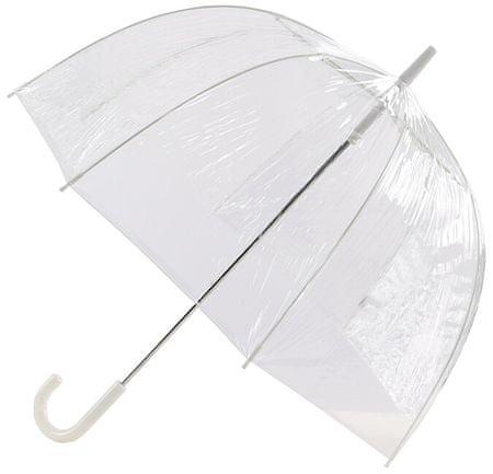 Blooming Brollies Damski Holovaty przezroczysty parasol Every day Clear Dome Vinyl Parasol Plain