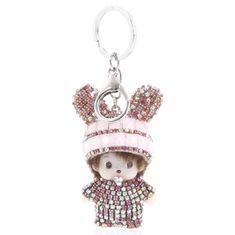 Delami Přívěsek na kabelku či klíče miminko Lane růžová
