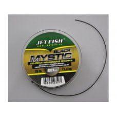 Jet Fish Black Mystic splétaná návazcová šňůra 11,4 kg 20 m