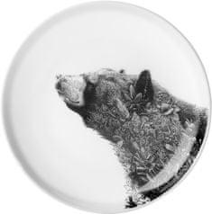 Maxwell & Williams Marini Ferlazzo tanier ázijský čierny medveď, 20 cm