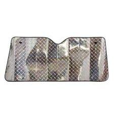 Walser Walser slnečná clona čelného skla Laserový dizajn 130x60cm so vzduchovými komorami