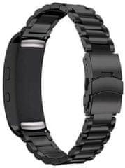 eses kovinski pašček za Samsung Gear Fit 2, črn (1530000649)