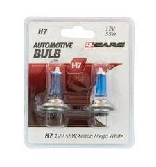 4Cars 4CARS 12V H7 55W Xenon Mega White 2ks (double blister)