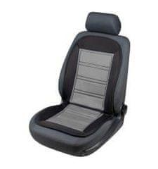 Walser Walser autopoťah sedadla vyhrievaný Warm Up šedo čierny