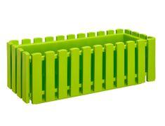 Plastkon Truhlík FENCY plastový zelený 75 cm