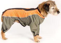 Samohýl Obleček - Kombinéza Trekky funkční pláštěnka šedo-oranžová 45 cm