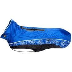 Rogz SKINZ pláštěnka RainSkin modrá vel. 40 cm