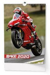 Kalendář nástěnný A3 Motorbike - na šířku