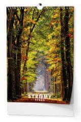 Kalendář nástěnný A3 Stromy