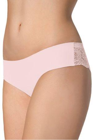 Julimex Majtki damskie Tanga pink, różowy, L