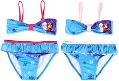 KFT Dívčí plavky bikiny Frozen Anna a Elsa Velikost: 98 (3 roky)