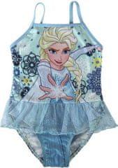 Cerda Dívčí plavky Frozen Elsa modré Velikost: 2/3 roky